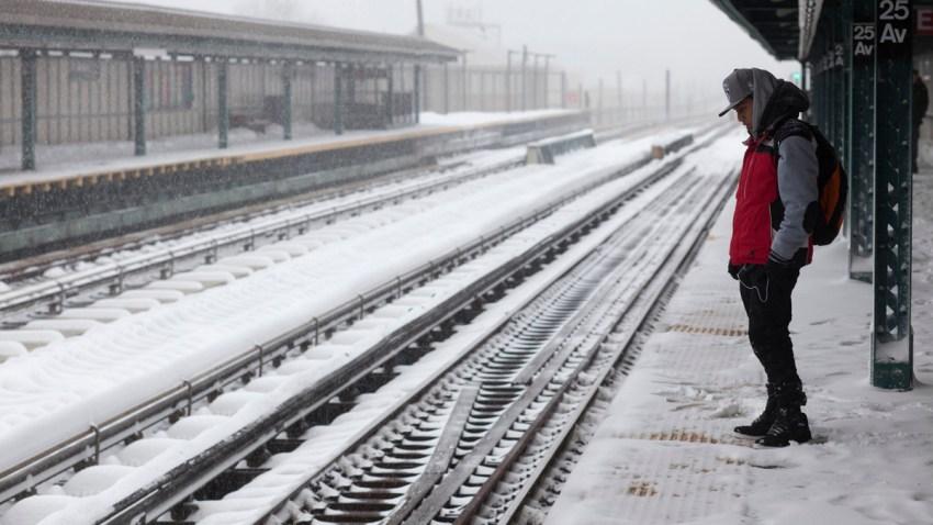 Big Snowstorm New York