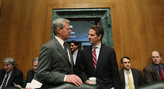 030509 Geithner and Baucus p1
