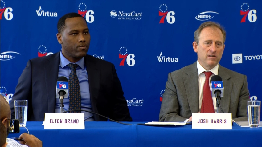 [CSNPhily] Top takeaways from Sixers' press conference with Josh Harris, Elton Brand
