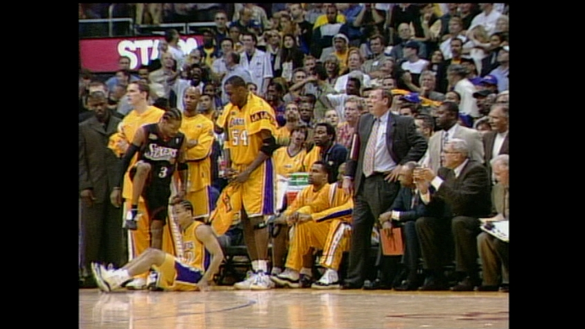 [CSNPhily] Remembering Allen Iverson's famous step over Tyronn Lue in 2001 NBA Finals