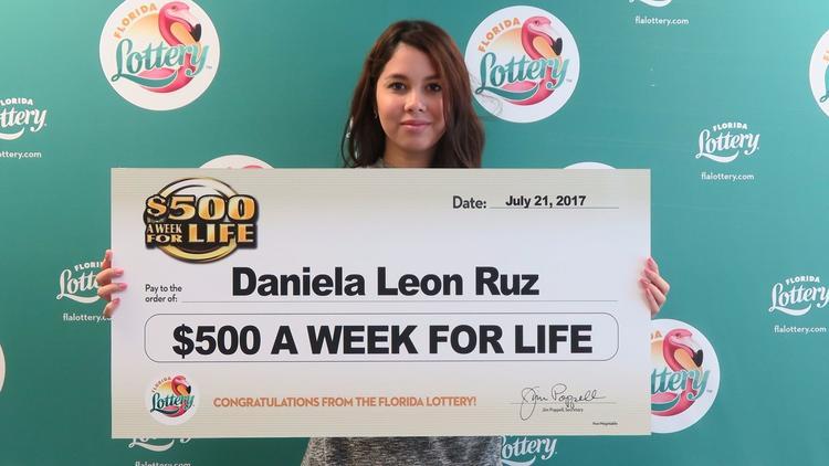 072517 daniela leon ruz lottery winner