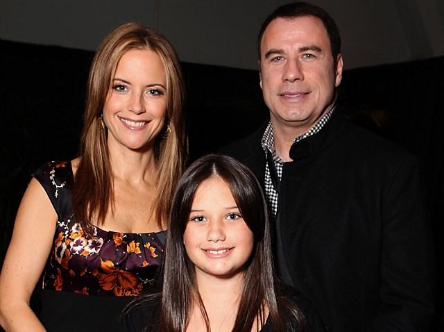 091109 John Travolta Kelly Preston daughter