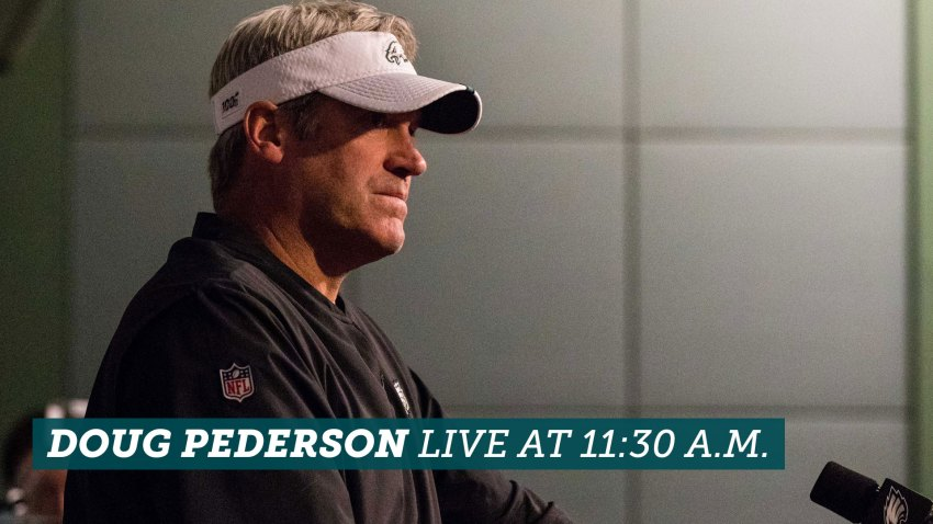 [CSNPhily] Live stream: Doug Pederson Eagles press conference at 11:30 a.m. ET Wednesday