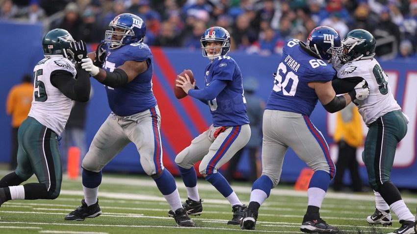 Eli Manning Eagles