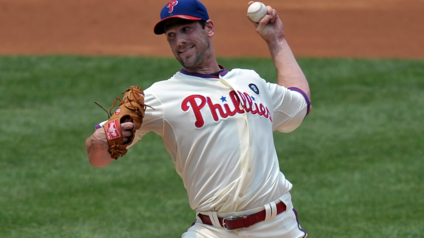 Cliff Lee throws Day Game