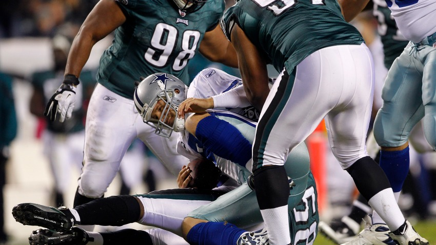 Tony Romo Sack