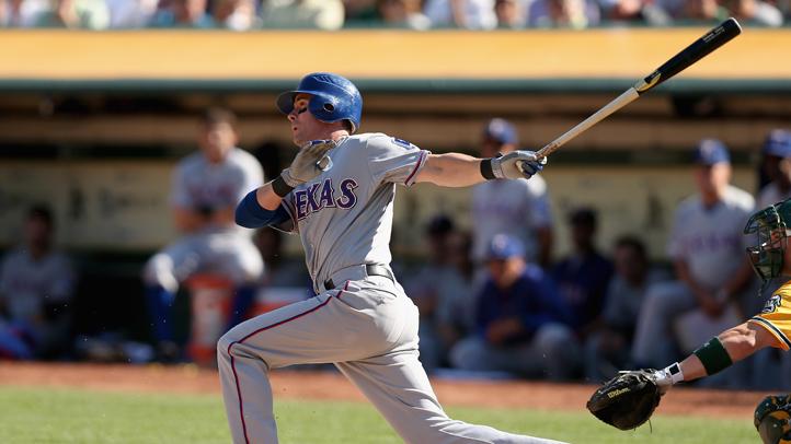 Texas Rangers Michael Young