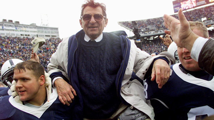 2001 Paterno on Shoulders