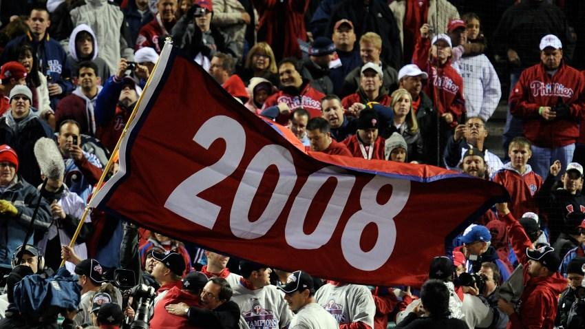 Phillies 2008 Championship Flag