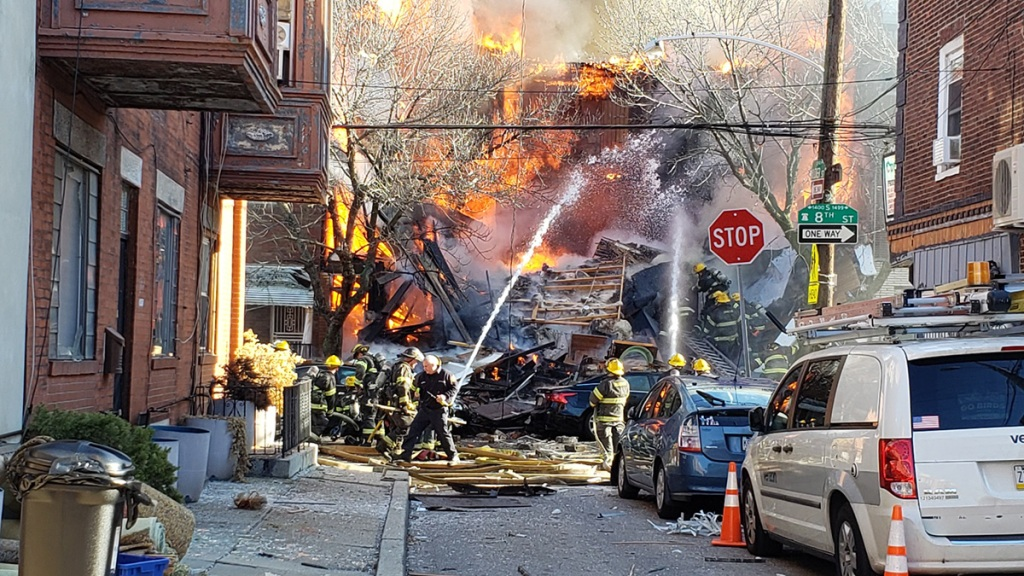 Massive house fire