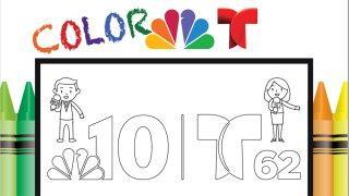 NBC10 Coloring Book
