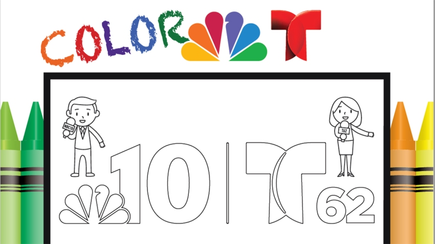 NBC10 Coloring Book