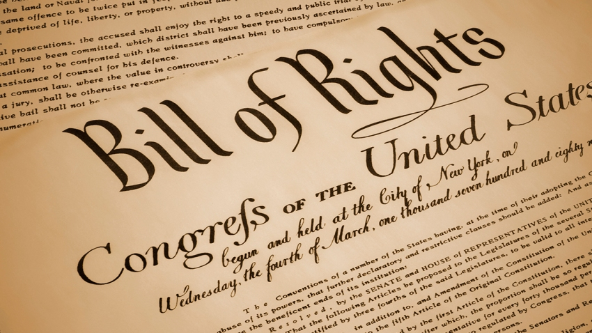 Image of the Bill of Rights