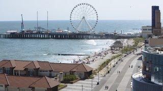 The Atlantic City Boardwalk