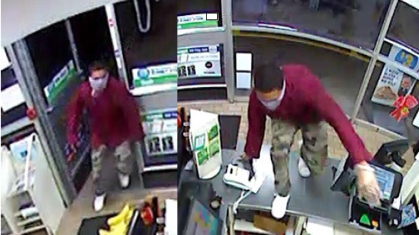 7-Eleven Robbery Suspect Placed