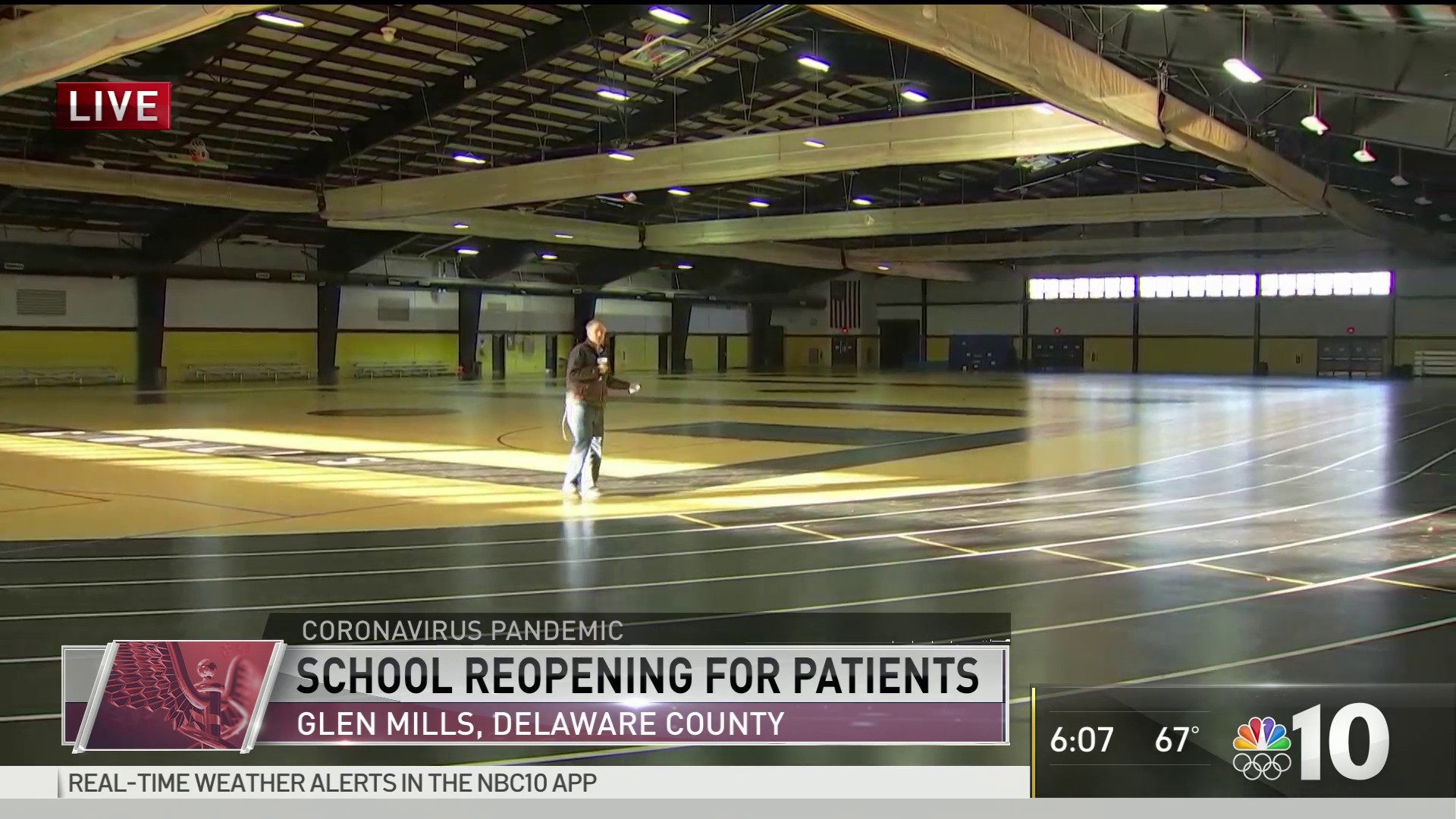 massive delaware county gymnasium to serve as pop up hospital nbc10 philadelphia massive delaware county gymnasium to serve as pop up hospital