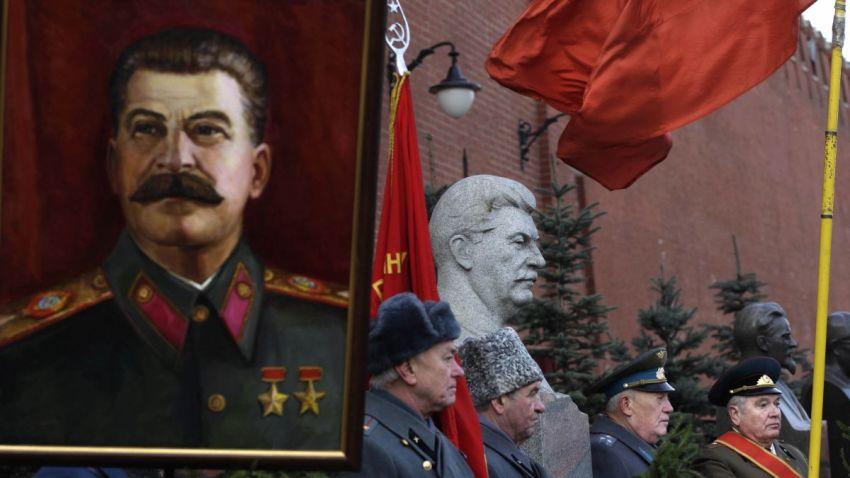 1229 APTOPIX Russia Stalin p1