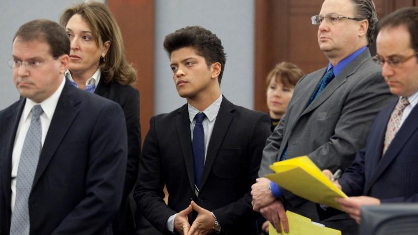 Bruno Mars Vegas Arrest