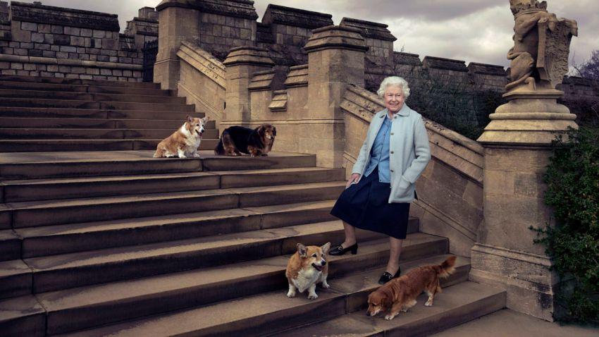 Britain Queen's 90th Birthday