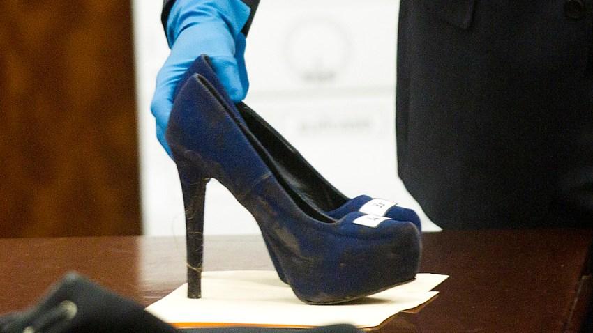 Stabbing Death-Stiletto Heel