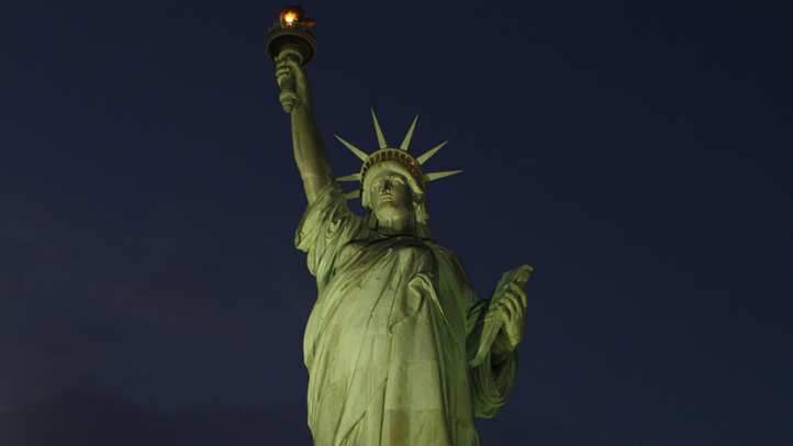 Statue of Liberty Light