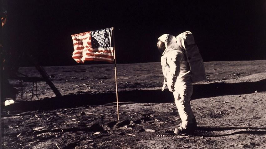 Raumfahrt Mondlandung Jahrestag