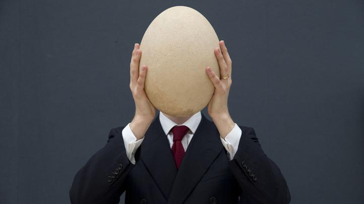 Britain Big Egg