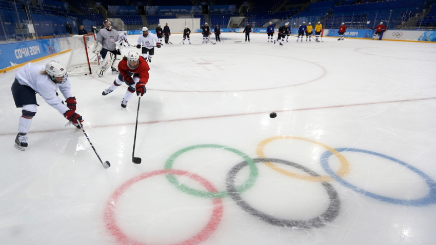 APTOPIX Sochi Olympics Ice Hockey Women