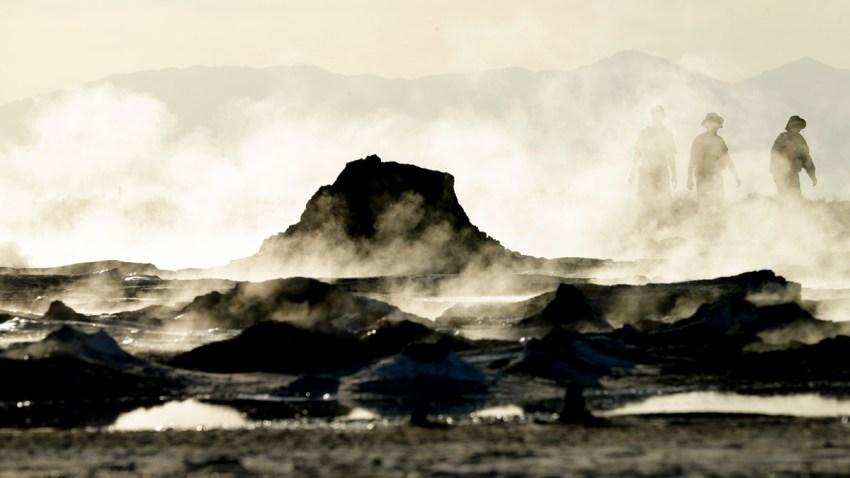 APTOPIX Shrinking Salton Sea