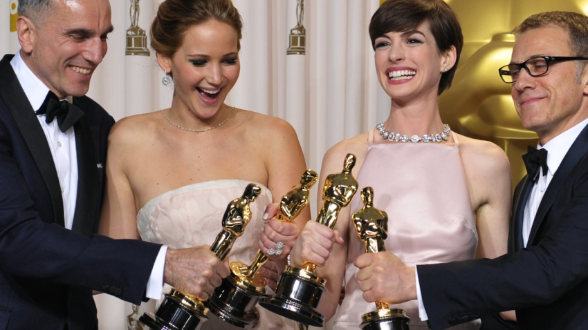 APTOPIX 85th Academy Awards - Press Room