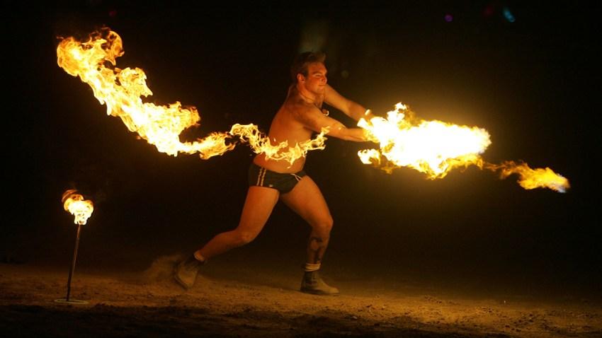 APTOPIX Burning Man