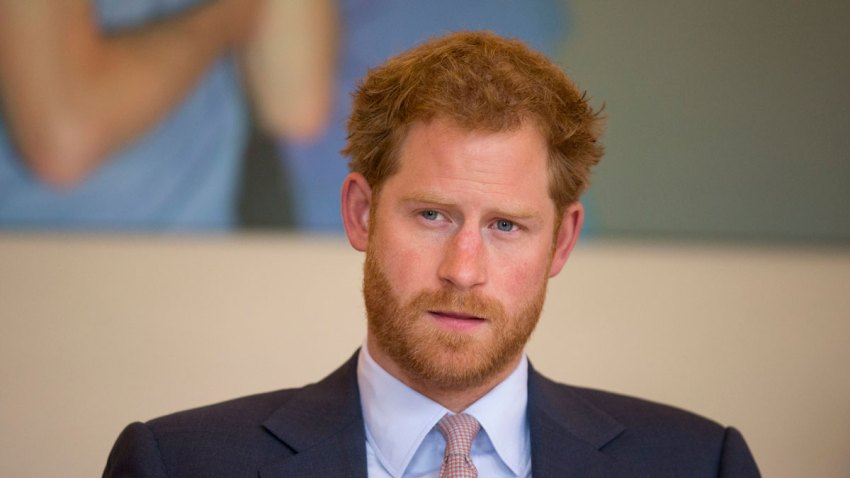 CORRECTION Britain Prince Harry