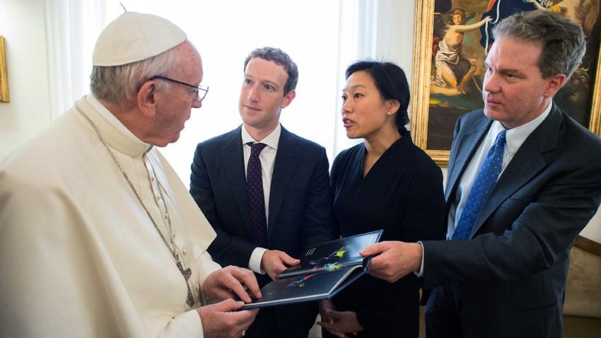 Vatican Zuckerberg