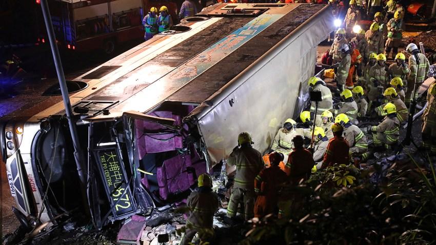 Hong Kong Bus Crash