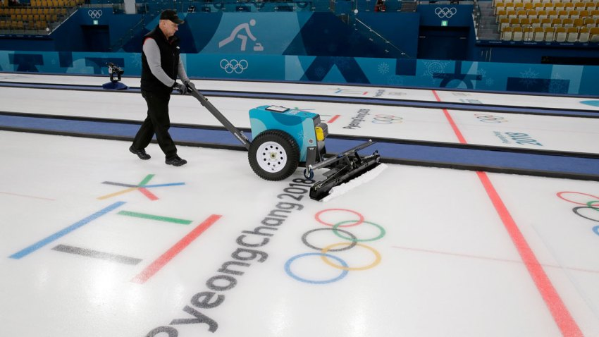 Pyeongchang Olympics Curling The Iceman