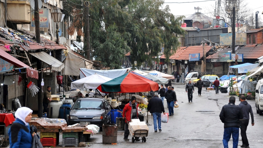 Syria Capital Under Fire