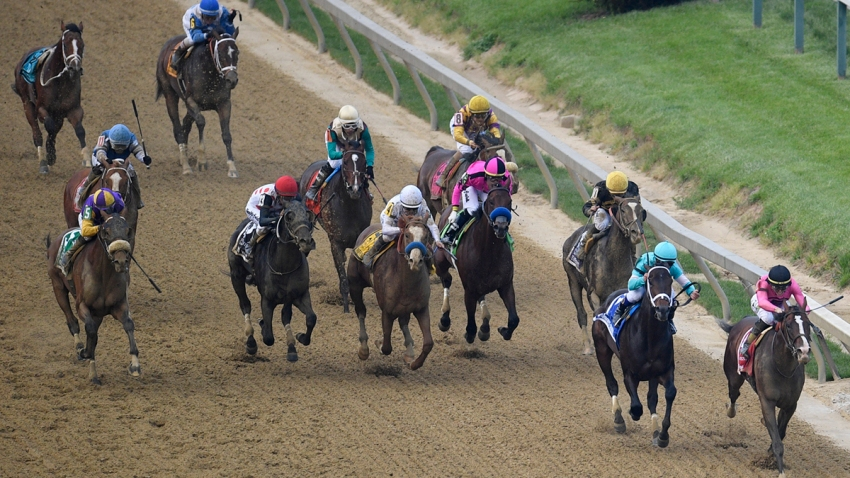 Preakness Stakes Horse Race