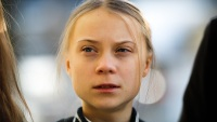 Teen Activist Greta Thunberg Responds to Cartoon Appearing to Show Her Being Assaulted