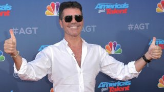 """Simon Cowell attends """"America's Got Talent"""" season 15 red carpet at the Pasadena Civic Auditorium on Wednesday, March 4, 2020, in Pasadena, Calif."""