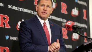 Rutgers NCAA college football head coach Greg Schiano
