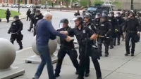 NY Officers Suspended for Shoving Elderly Protester, Causing Him to Fall
