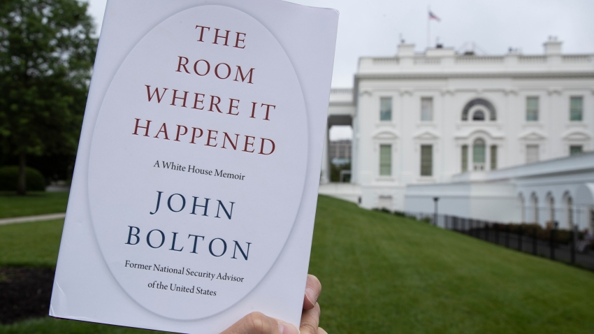 "A copy of ""The Room Where It Happened"""