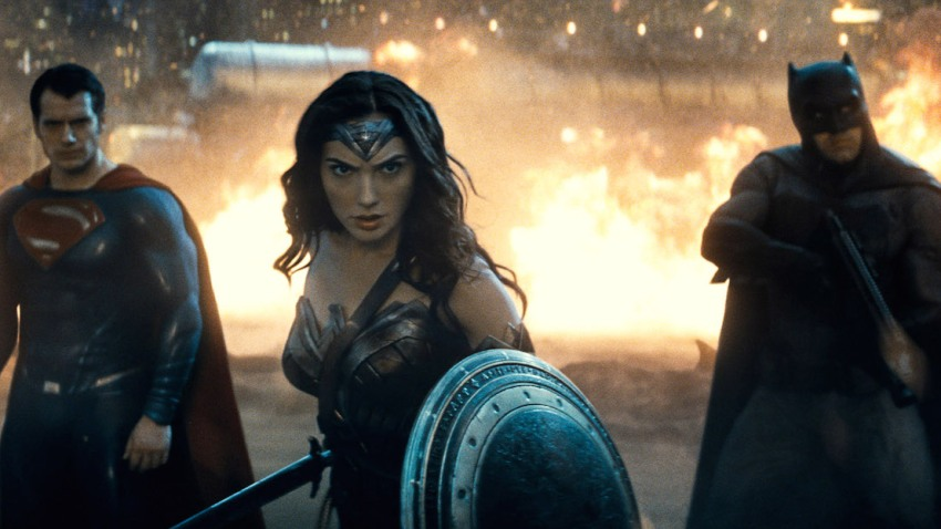 Film Batman V Superman - Wonder Woman