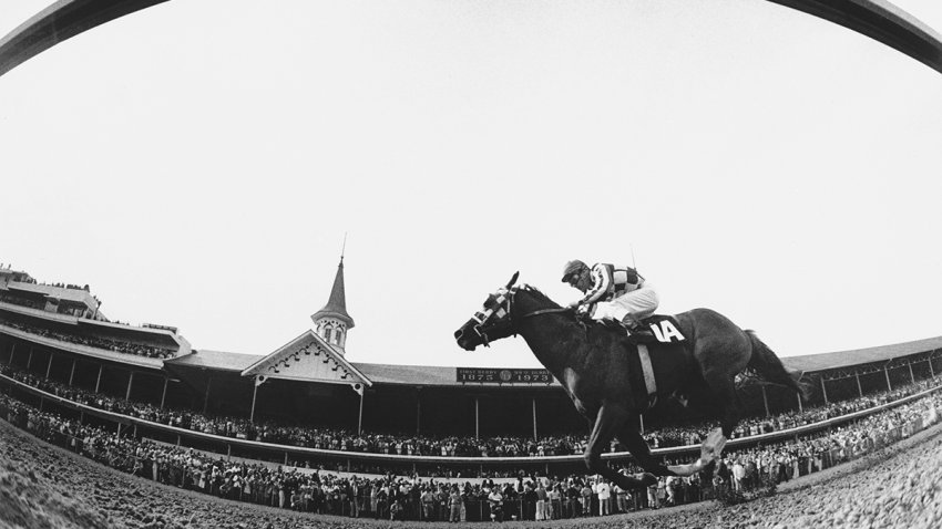 Secretariat, ridden by Ron Turcotte in 1973