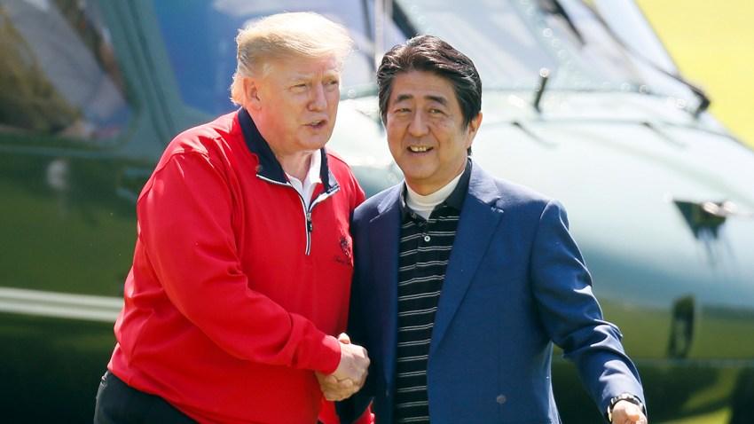 APTOPIX Japan Trump