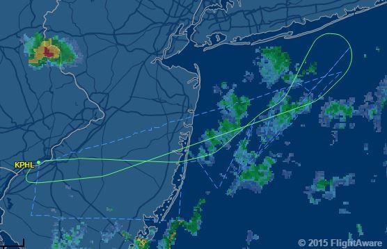 American Airlines Flight 750 Brussels Philadelphia