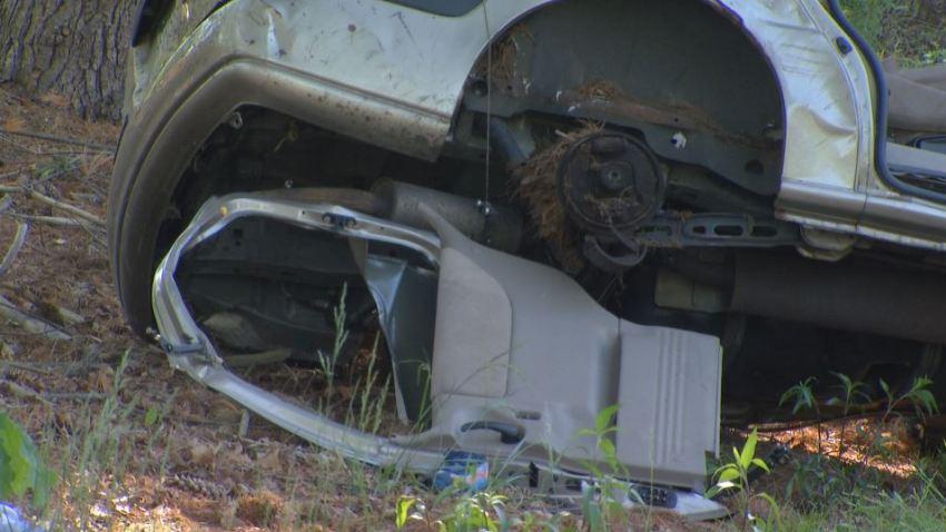 Atlantic City Expressway Crash Minivan