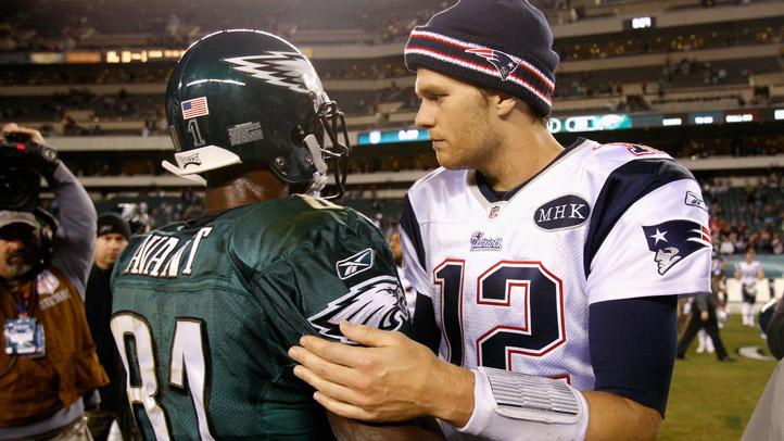 Jason Avant and Tom Brady