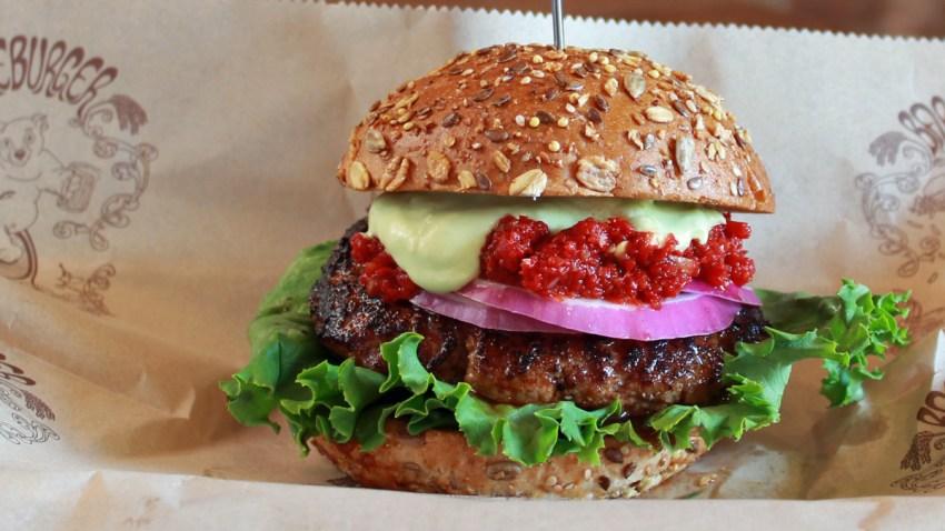 Bareburger Goat Burger