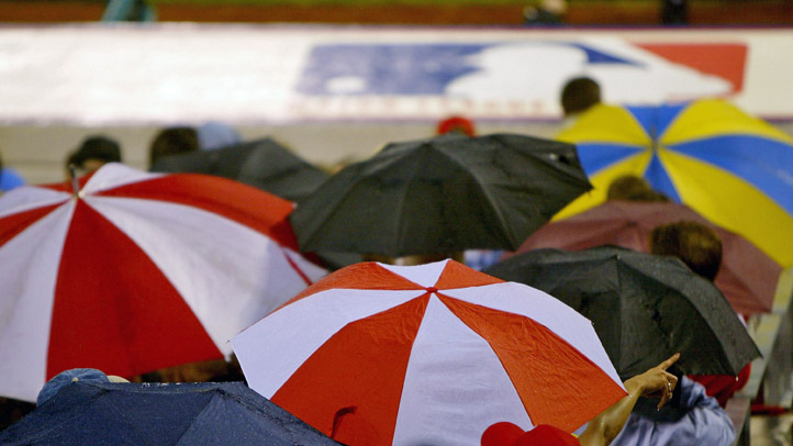 Phillies Baseball Rain